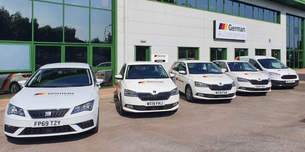 German Autocentre has a range of courtesy cars